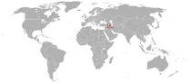 Locator Map of North Iran