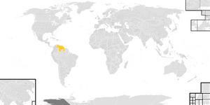 Location of Azebas Map