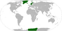 Locator Map of Kalmar Union