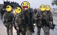 The Army of Smiles