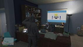 A Recruit Salutes General Astonviggo In His Office