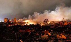 Guatemala City destroyed
