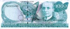1000 Lorencian Quidos banknote