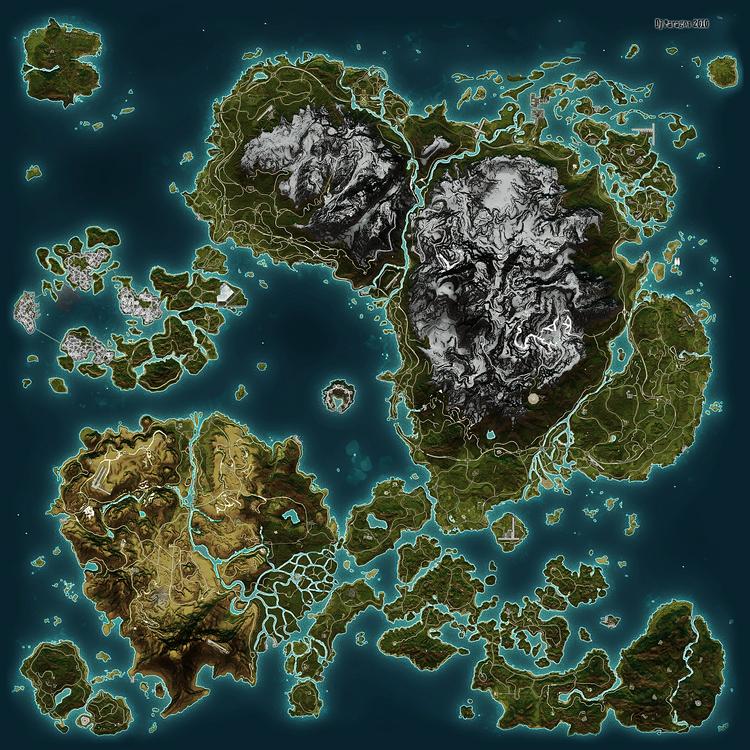 Map of Panau