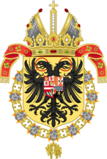 Arms of Franz I of La Plata