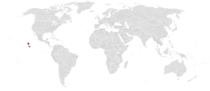 Locator Map of Los Ochentas