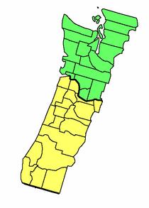 United Republic of Cascadia Political Map