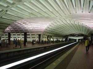 Metro Center interior