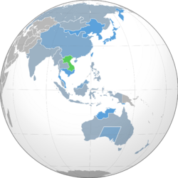 Indochinese DR trade map