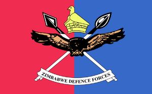 Flag of the Zimbabwe Defense Forces