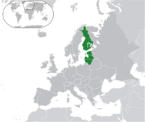 Locator Map of Baltic Federation
