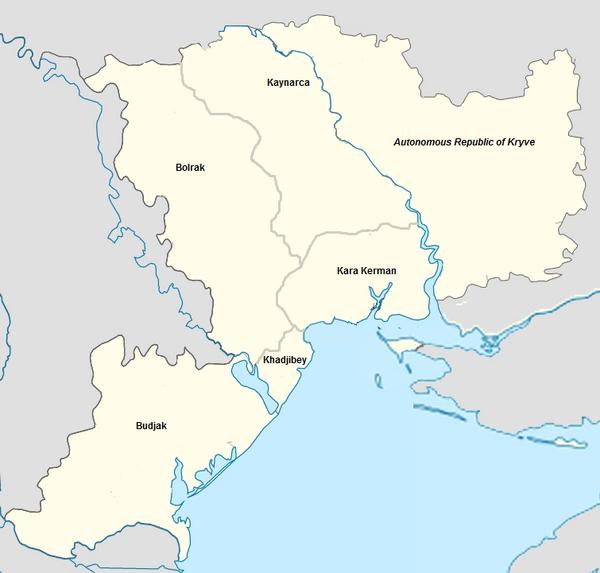 Meskheti map