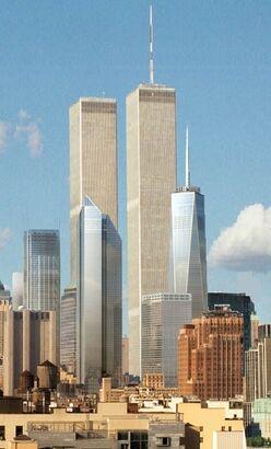 New World Trade Center Viewed From Northeast