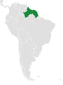 Map of Guayana