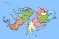 Provinces of Falkland
