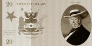 Sierran twenty dollar front