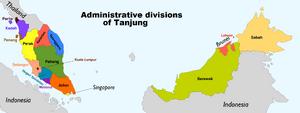 Rajiamap provinces
