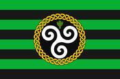 Flag of the celtic union by imdeadpanda-d7r2rar