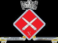 10th Artillery Cie insignia