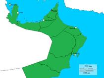 Arabian map