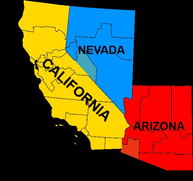 Image - Map of Sierra (California-Nevada-Arizona regions).png ...