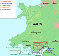Wales Battle Map