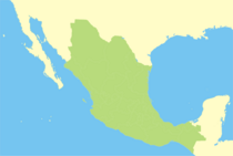 Map of Mexico (Fascist)