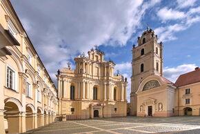 University of Vilna amd Church of St. Johns