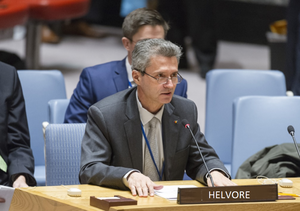 Arvo Le Blanque, UN Security Council