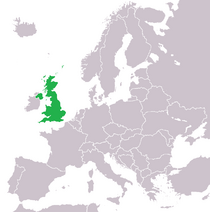 Location of Great Britain