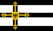 Flag of the teutonic order of hoovaria by prussiabrony22-d7kfiaz-1-
