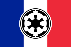 Civil Flag of the Empire of Paradise Island