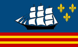 Flag of Boudeuse