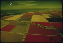 Imperial Valley checkerboard fields
