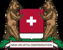 New Helvetia Coat of Arms