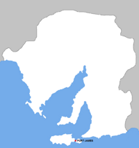 Location of Port James.png