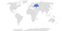 Map of Ruthenia