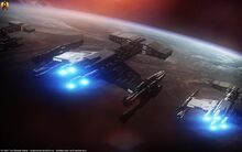 Starcraft terran battlecruisers by euderion dbibpwq-fullview