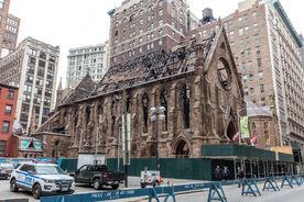 Сгоревшая церковь