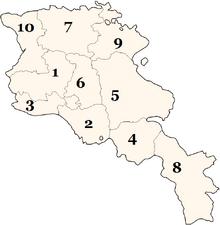 Armenia numbered