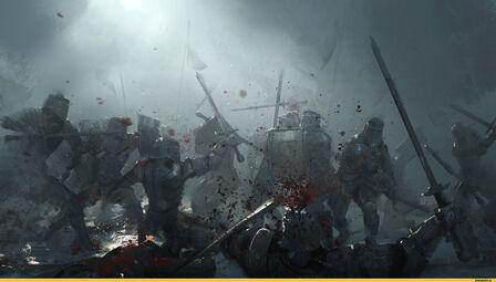 Воины в ночи