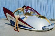 George Barris XPAC 400 air car 1959
