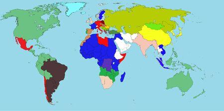 Мир на 1930-ее