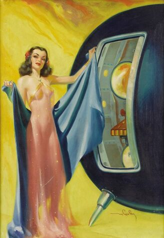42840046-Meet Me In Tomorrow by Guy Archette Imagination December 1950-600x871