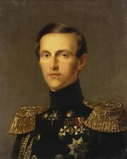 Kruger Franz - Portrait of Grand Duke Konstantin Nikolayevich