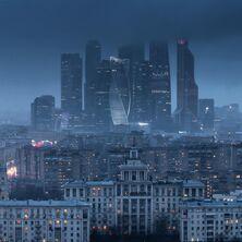 Москва в ночи