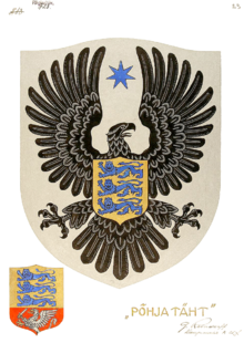 800px-Alternative Coat of arms of Estonia 1922 Author Günther Reindorff