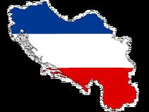 Королевство Югославия карта