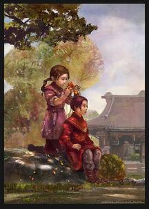 Асами и ее компаньонка