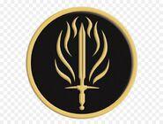 Герб Золотого Сокола